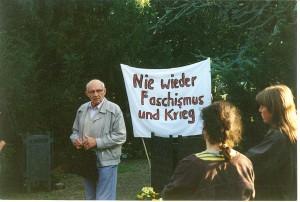 Alfred Hauser_Nie wieder Faschismus und Krieg
