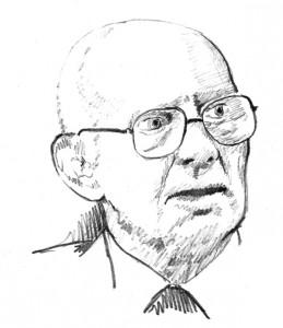 Alfred Hausser Zeichnung